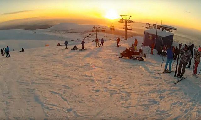 Хибины. горнолыжные курорты России