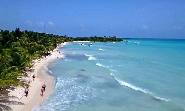 в Доминикану с декабре