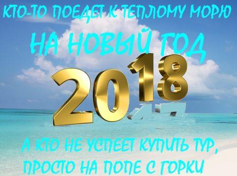 туры на теплое море из Москвы на новый 2018 год