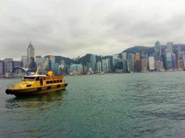 стыковка в Гонконге