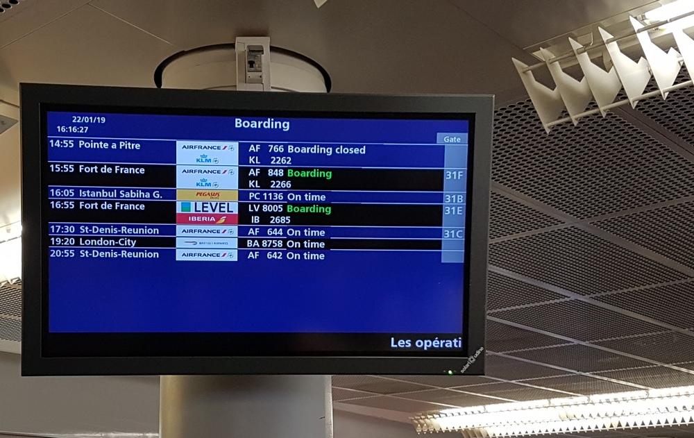 рейсы на Мартинику из Парижа
