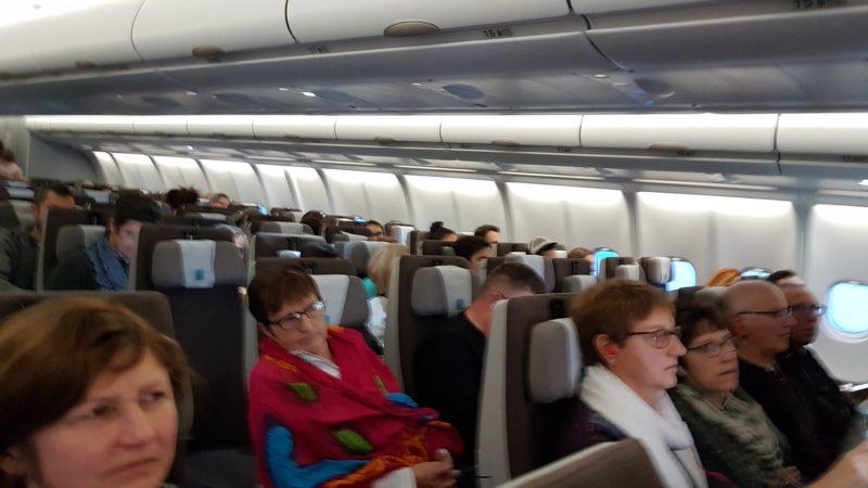 самолет из Парижа на Мартинику