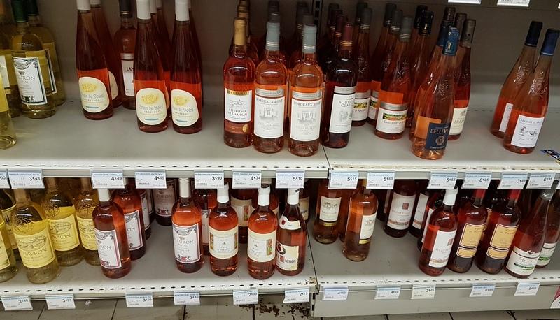 цены на розовое вино