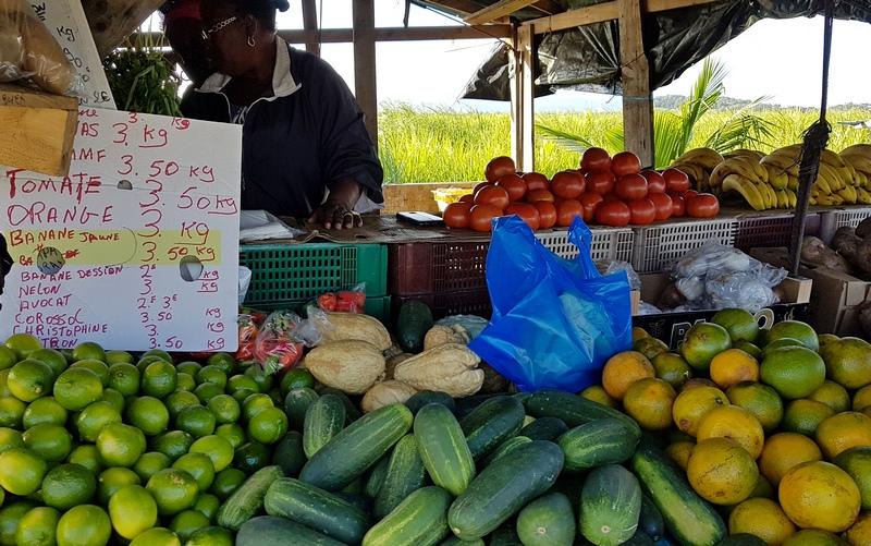 цены на бананы на Мартинике