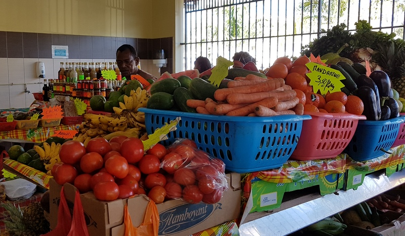цены на рынке. Мартиника
