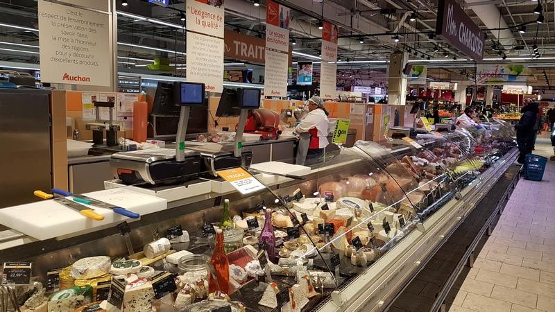 за продуктами в Европу