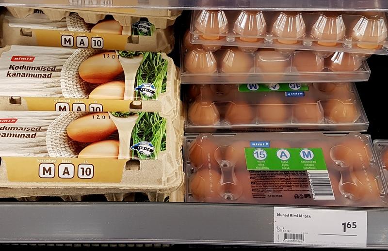 цены в Эстонии
