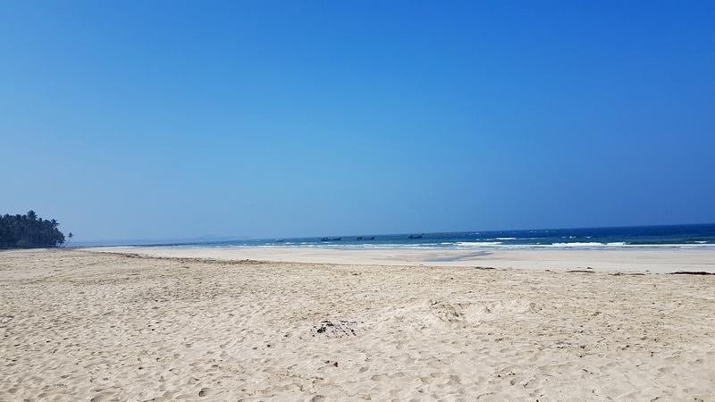 пляж в Нгве-Саунге