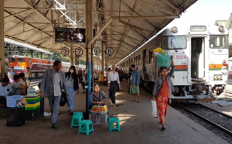 кольцевая жд в Янгоне