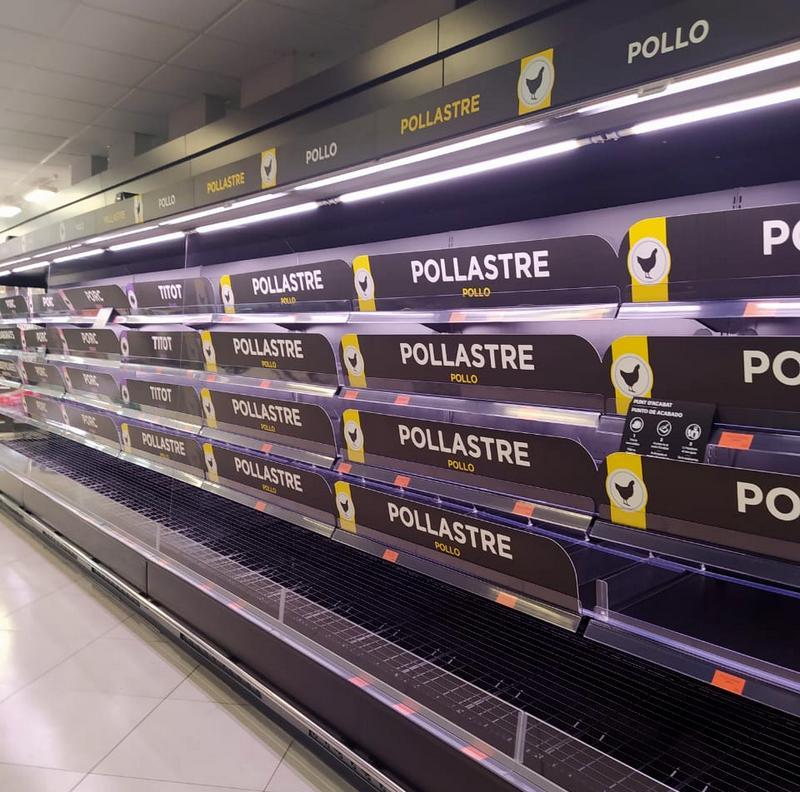 коронавирус съел все продукты в Европе