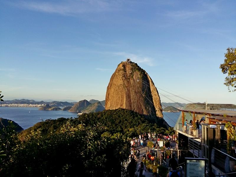Рио-де-Жанейро. Подъем на Сахарную голову