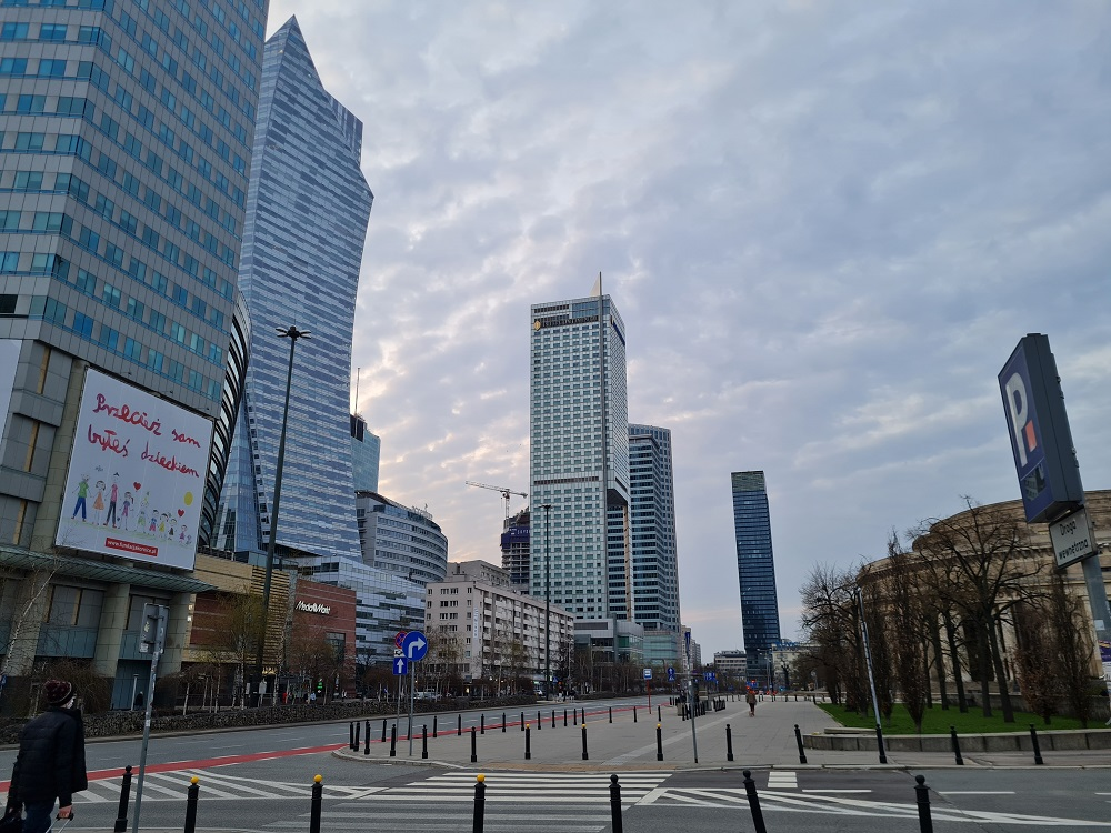 ковидная Варшава