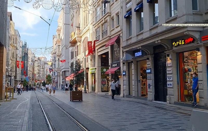 Стамбул. Улица Истикляль